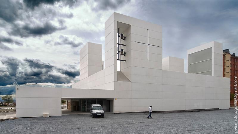 Iglesia Ponferrada / Vicens + Ramos, © Pablo Vicens