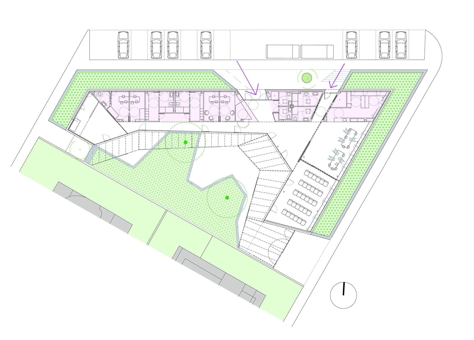Centro de d a flexo arquitectura plataforma arquitectura for Plantas de arquitectura