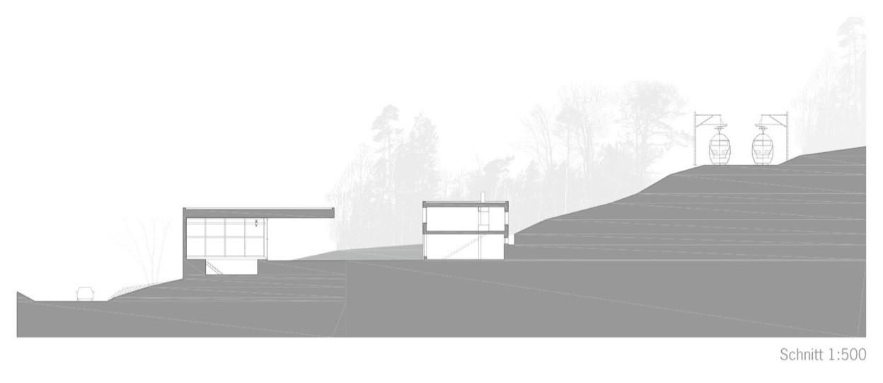 Corte 3 © bauzeit architekten