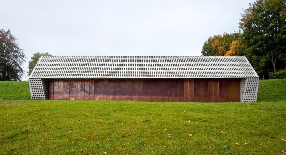 Edificio para el almacenamiento de agua / Berrel Berrel Kräutler, © Eik Frenzel
