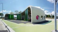 Sala de espera intermodal / LYVR