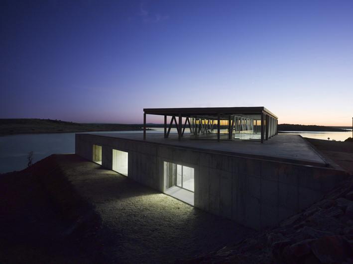 Centro de Remo / José María Sánchez García, © Roland Halbe