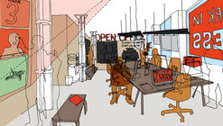"The Architecture Foundation and We Made That Launch ""The Open Office"""