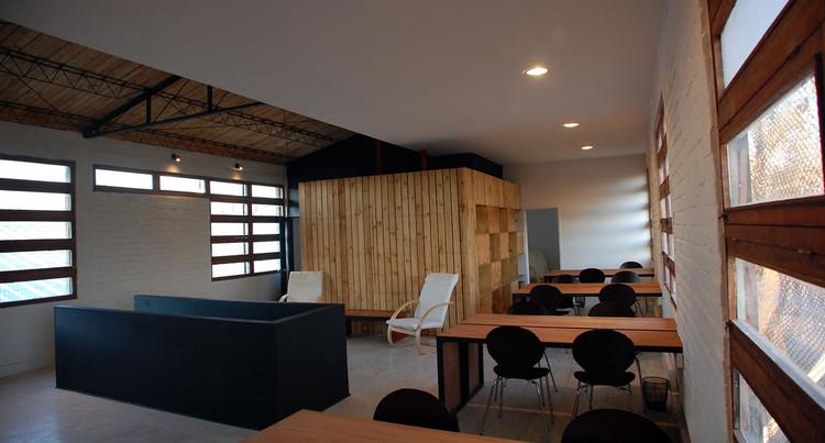 Remodelación Sede Central Junto al Barrio / Andrés Briones + Nicolás Cruz + Cristián Robertson, © Andrés Briones