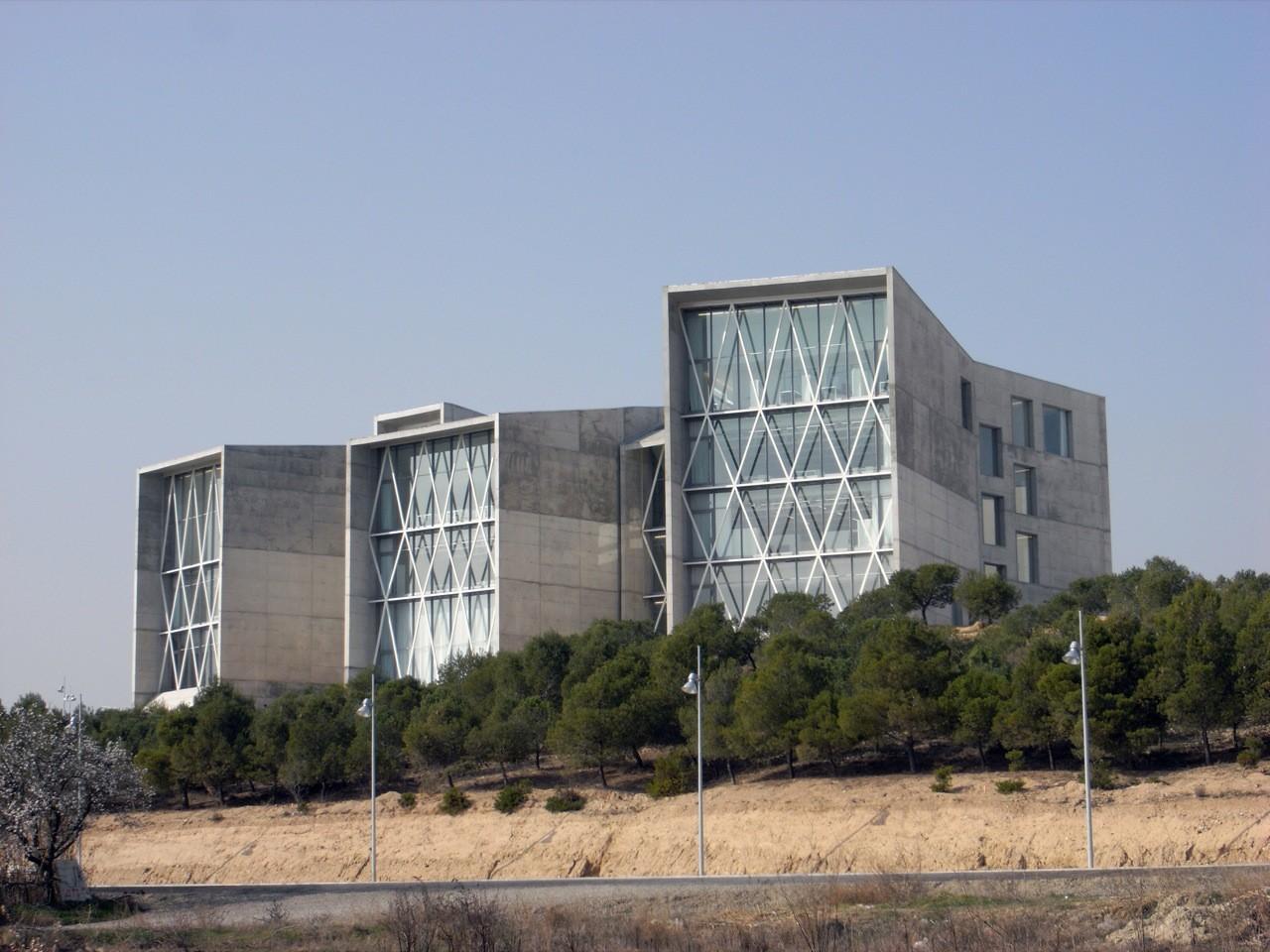 Facultad de Comunicación, Universidad San Jorge / Taller Básico de Arquitectura, © Xabier Ilundain Madurga