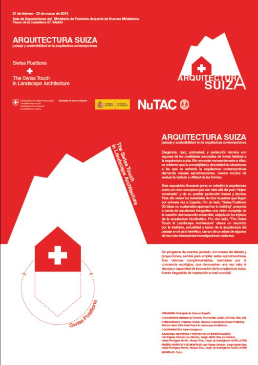 """Exposición """"Arquitectura Suiza"""""""