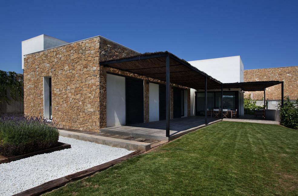 8 viviendas unifamiliares de santa barbara antonio for Vivienda arquitectura