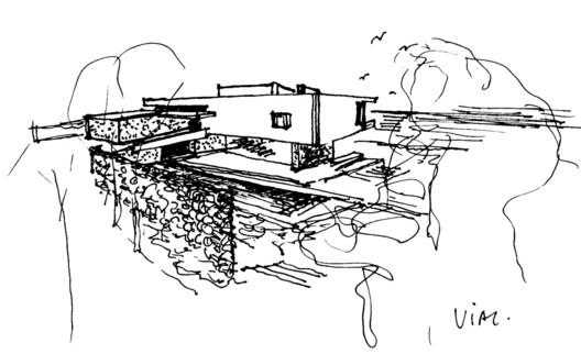 Sketch: Back view