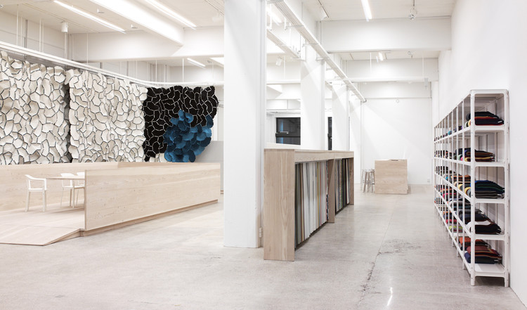 Showroom Kvadrat / Ronan y Erwan Bouroullec, © Paul Tahon and R & E Bouroullec