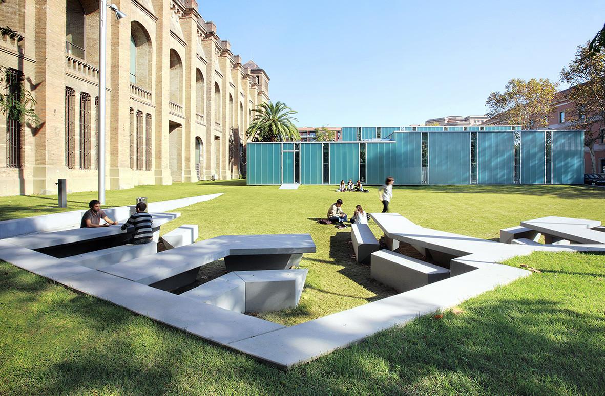 Zona Verde Campus De La Ciudadela / F451·Arquitectura, © José Hevia