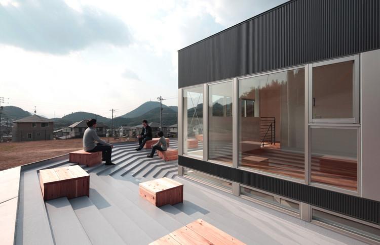 Casa de Bancos y Techo / Masao Yahagi Architects, © Koichi Torimura