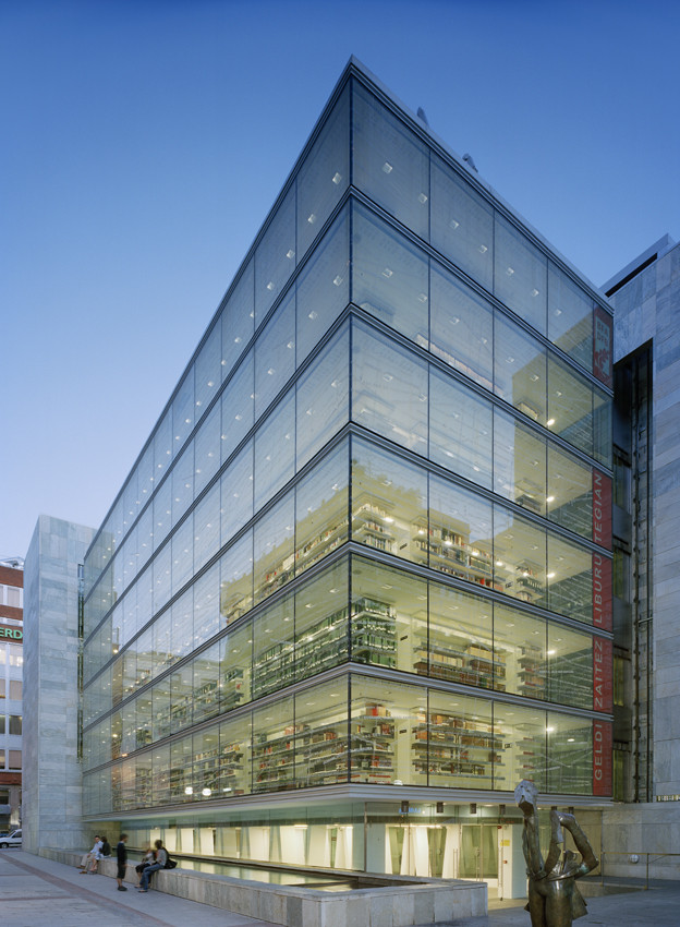 Biblioteca Foral de Vizcaya / IMB Arquitectos, © Åke E:son Lindman