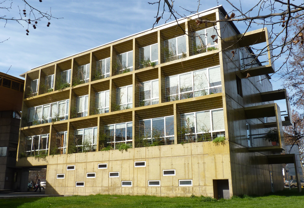 Ampliaci n facultad de educaci n edificio postgrados for Mapa facultad de arquitectura