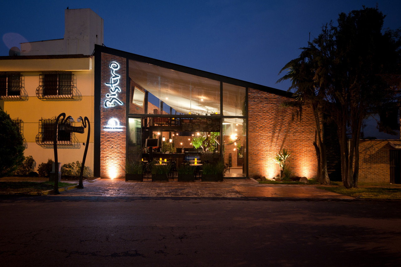 Restaurante Bistro Metarquitectura Archdaily M Xico
