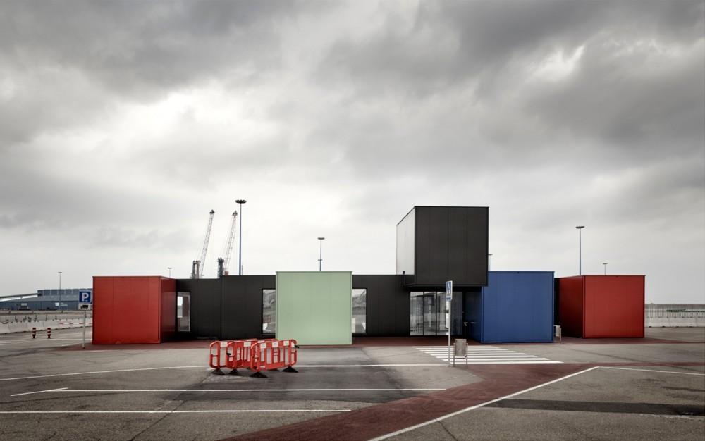 Estación Marítima en el Puerto de Gijón / [baragaño], © Mariela Apollonio