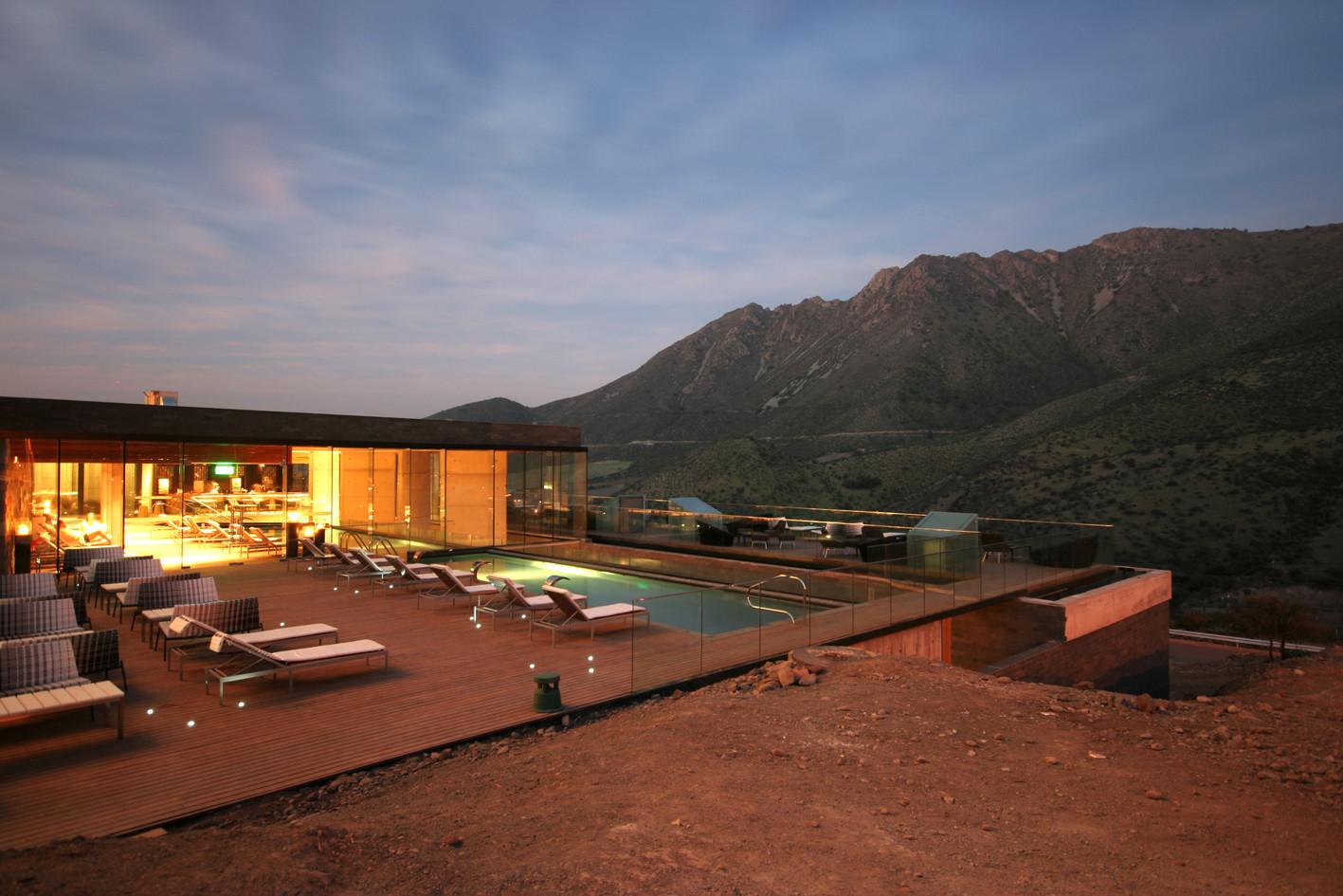 Spa Hotel del Valle / Estudio Larraín, © Rodrigo Larraín Illanes