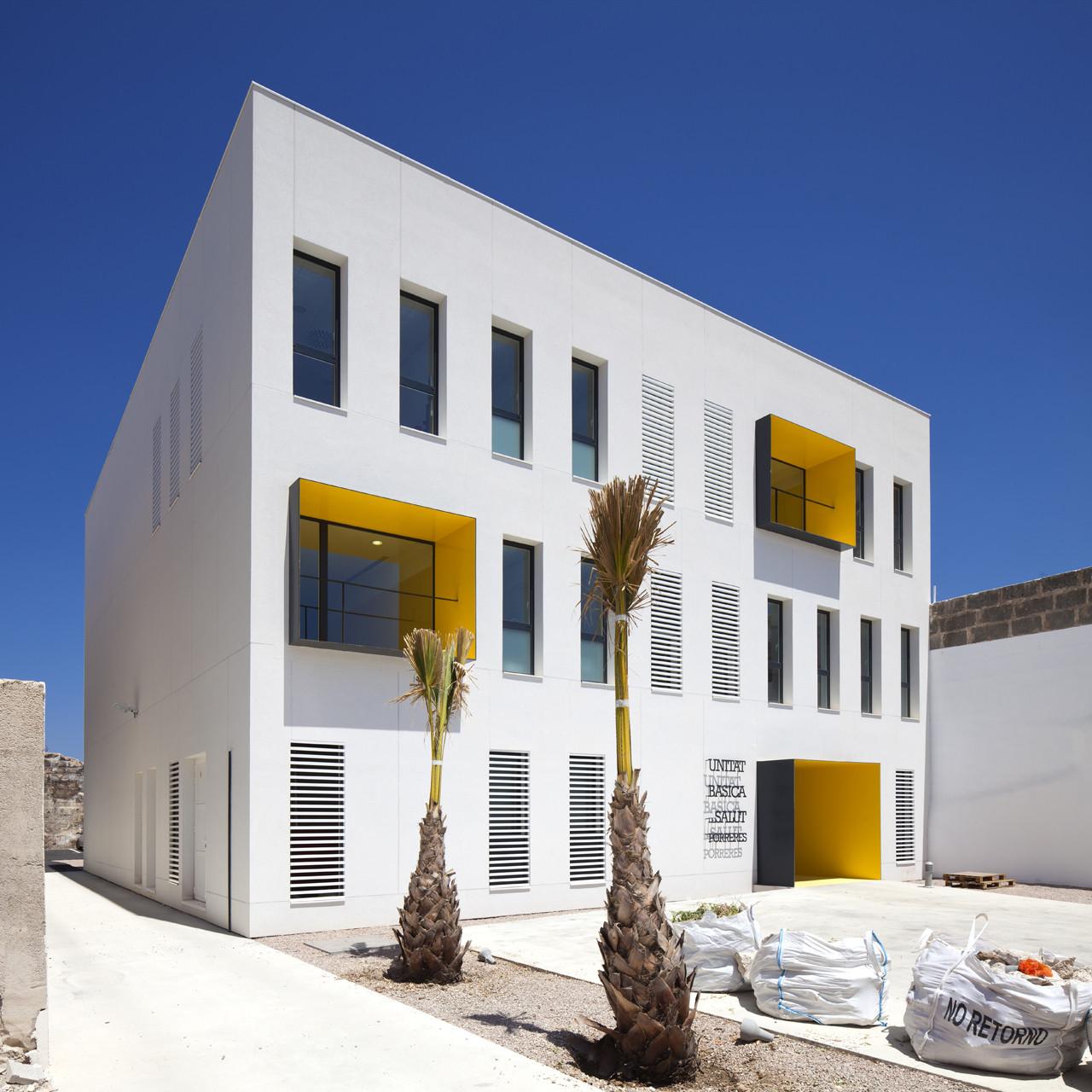 Centro de Salud de Porreres / MACA Estudio de Arquitectura, © Jaime Sicilia