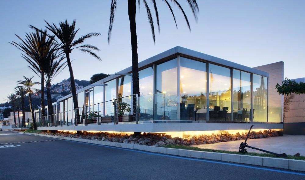 Edificio Social Club de Vela / SCT Estudio de Arquitectura, © José Hevia
