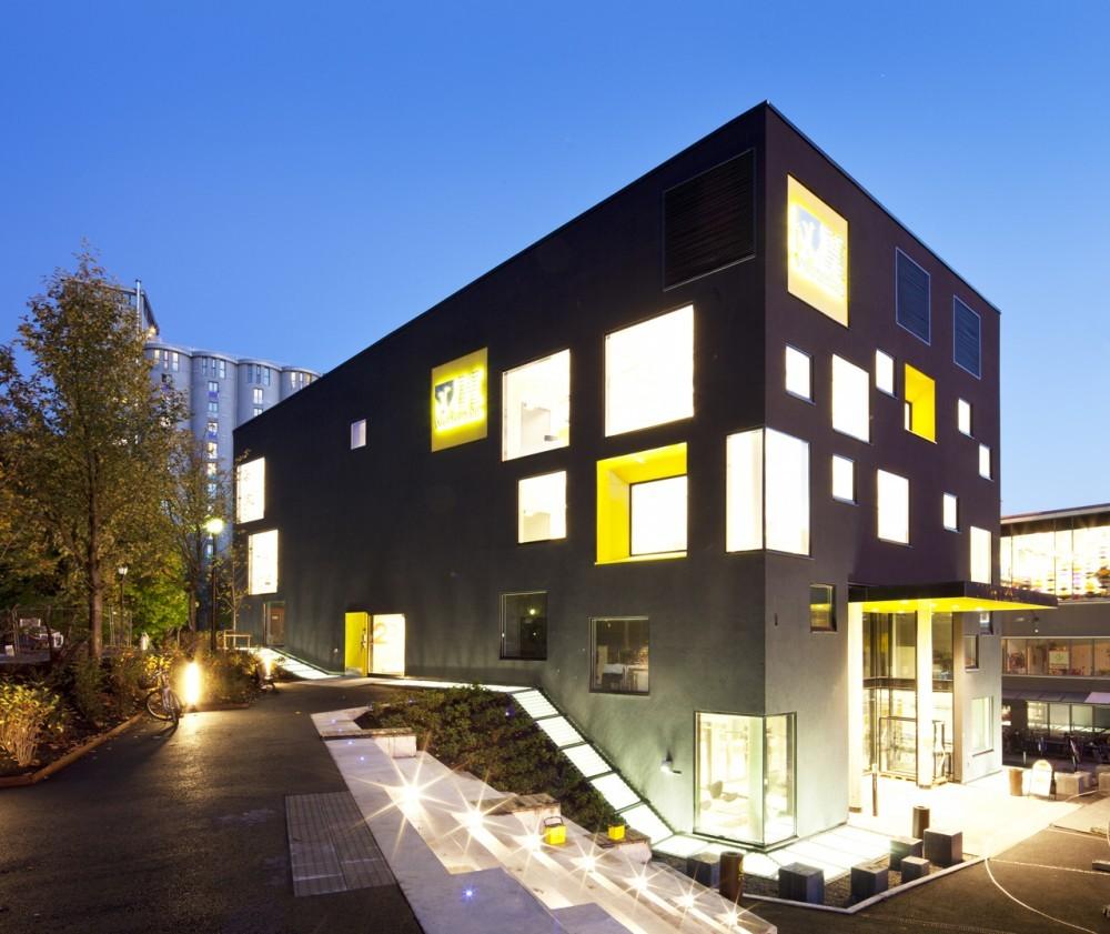 Escuela de Comunicación Westerdals / Kristin Jarmund Architects, © KJARK – Benjamin Hummitzsc