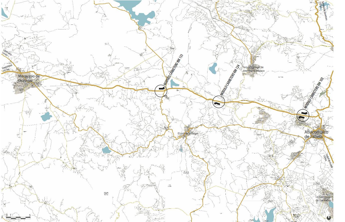 plano carretera