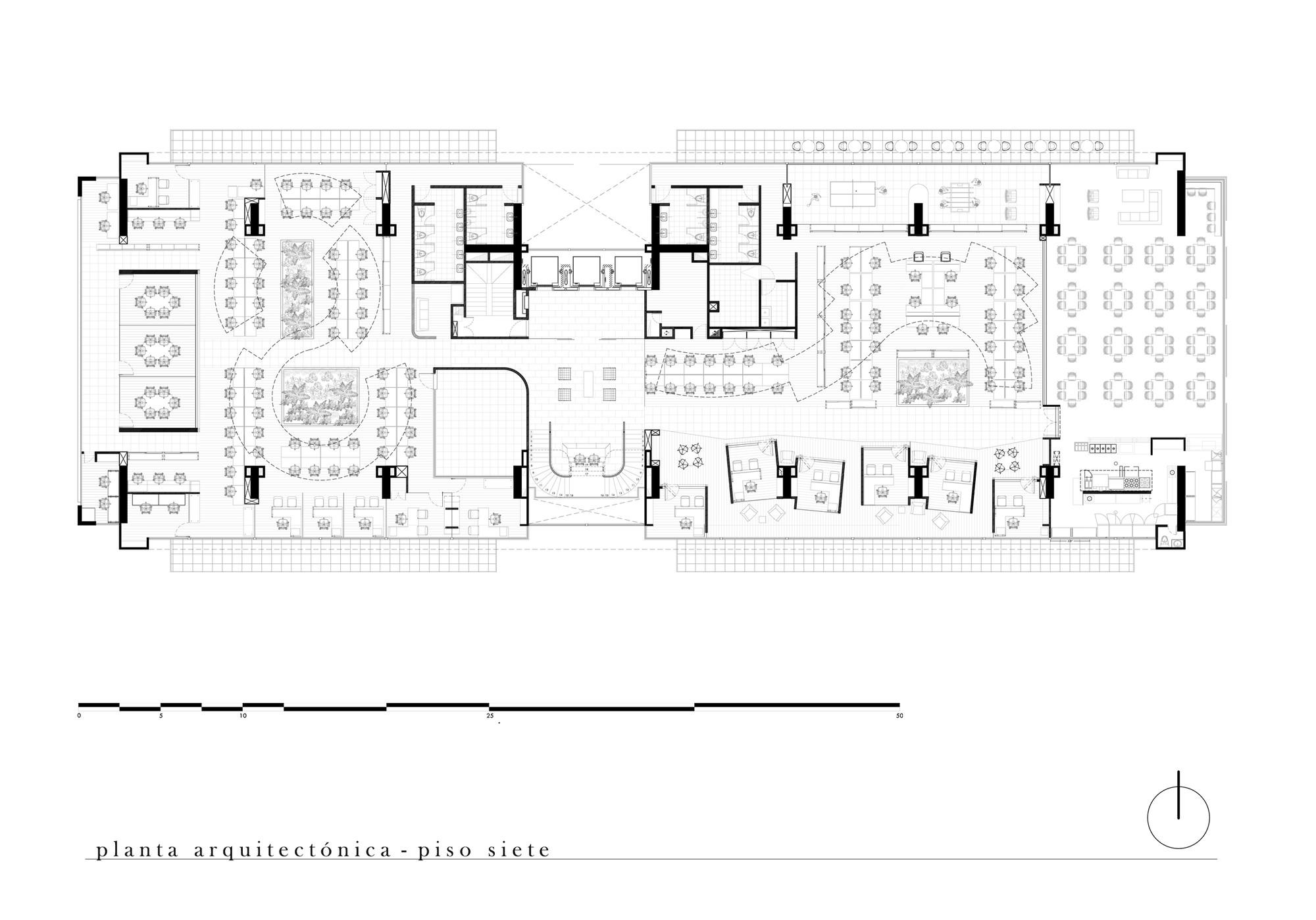 planta piso 7