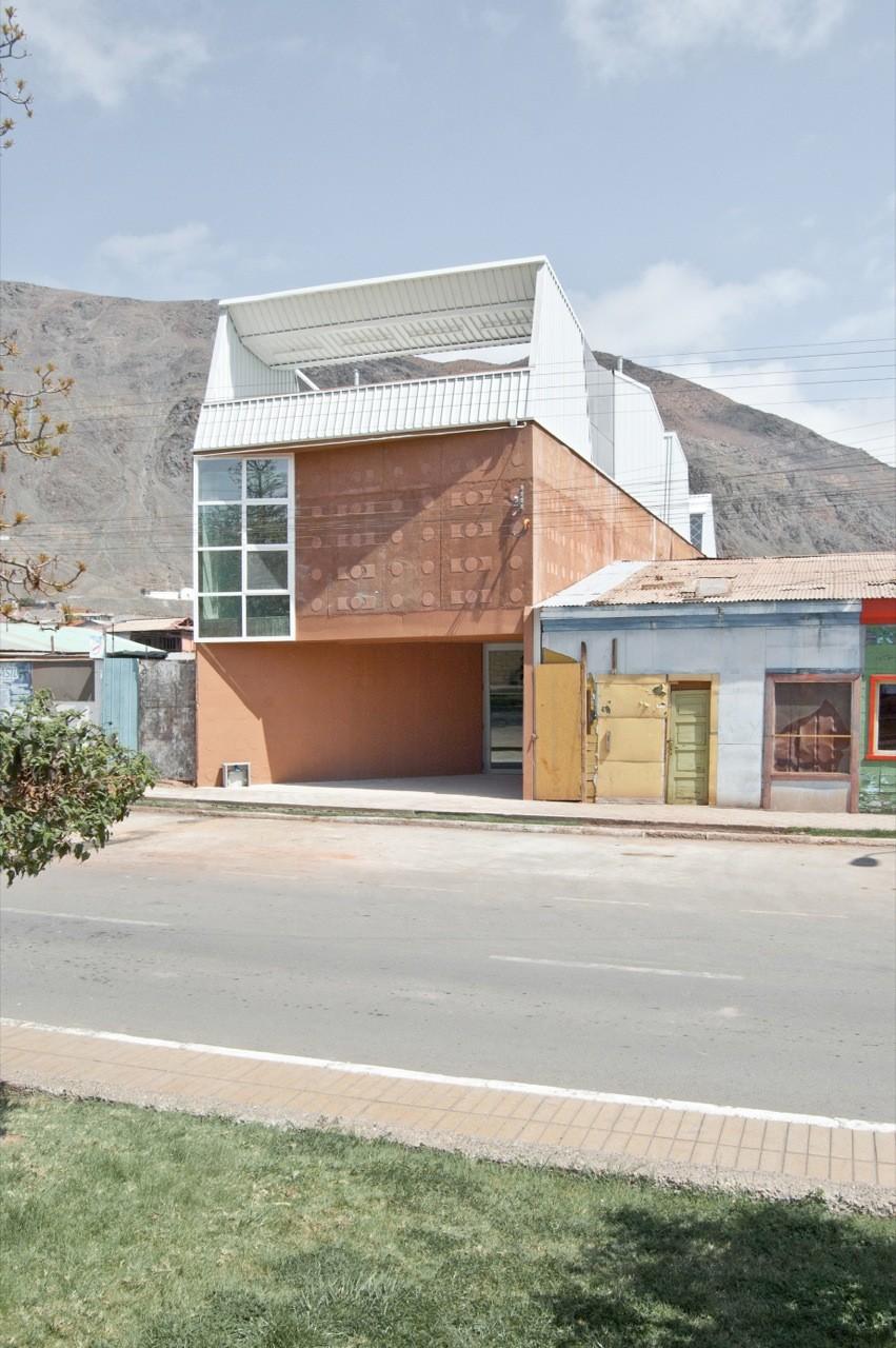 Biblioteca Pública Taltal / Murua-Valenzuela, © Macarena Alvarez