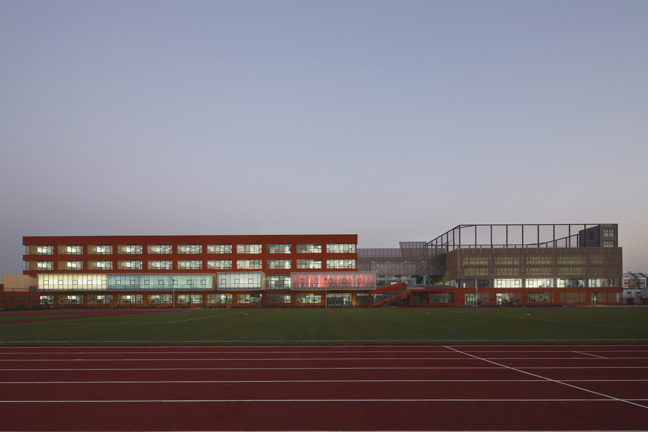 Escuela Elementaria Zhangjiawo / Vector Architects + CCDI, © Shuhe Photo