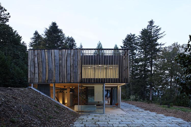 D house / Lode Architecture, © Daniel Moulinet