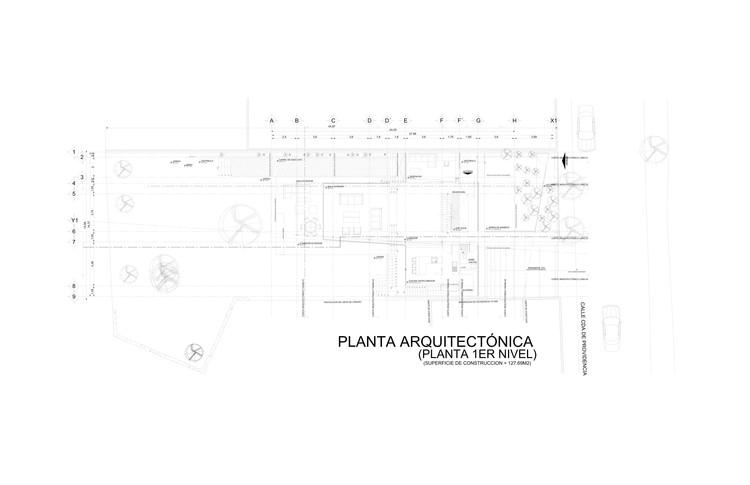 Proyecto Arquitectónico planta baja