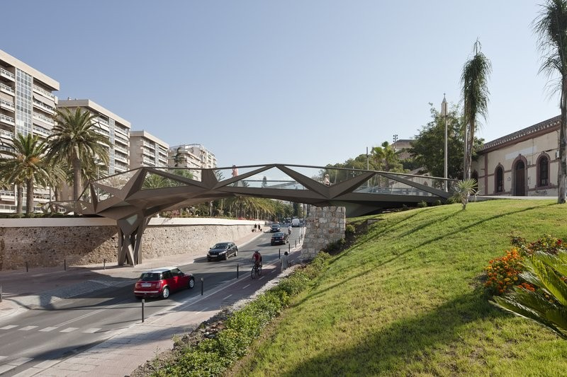 Pasarela en Motril / Gijón Arquitectura + Vicente Guallart, © Fernando Alda