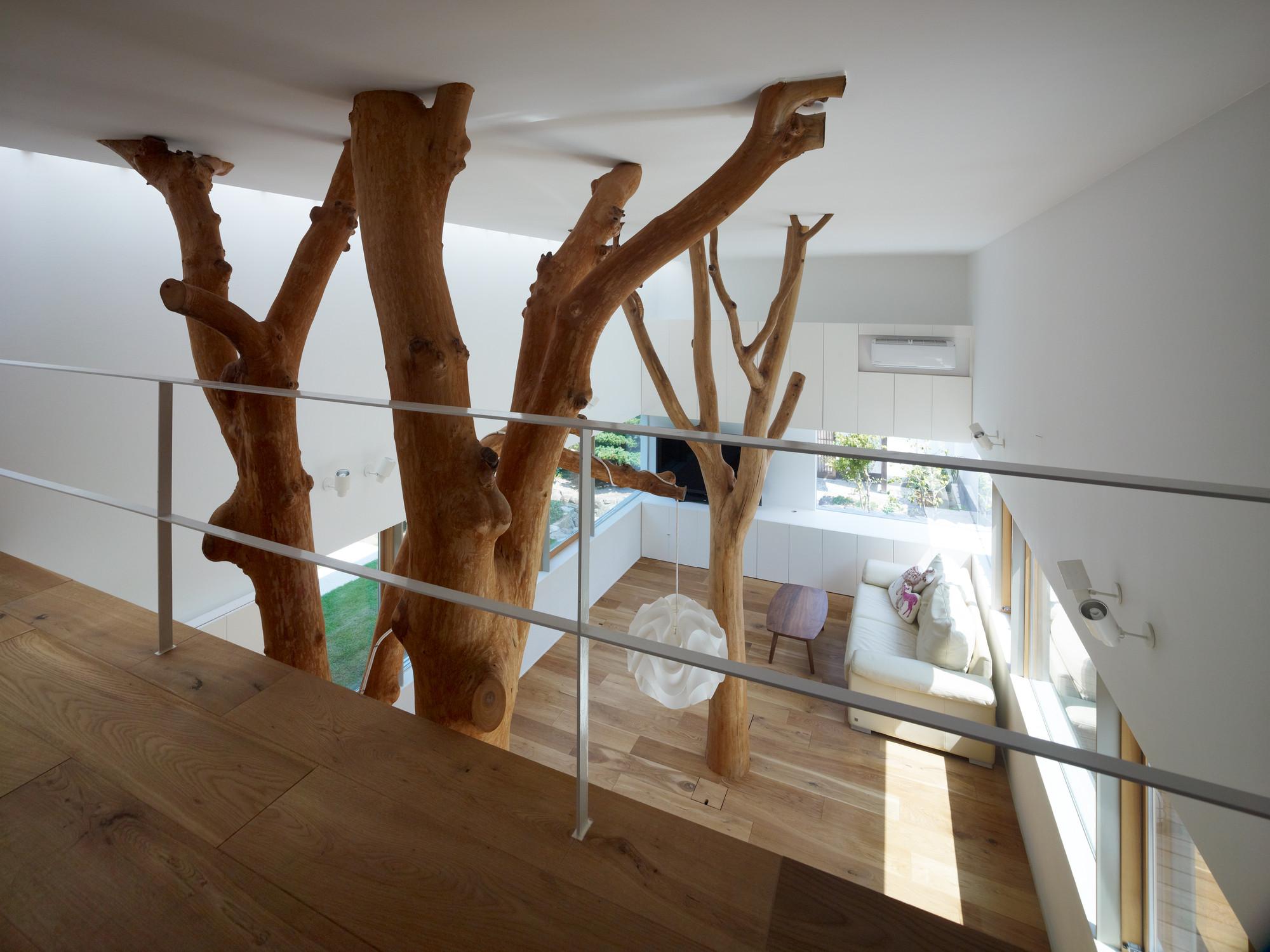 Garden Tree House / Hironaka Ogawa & Associates, © Daici Ano