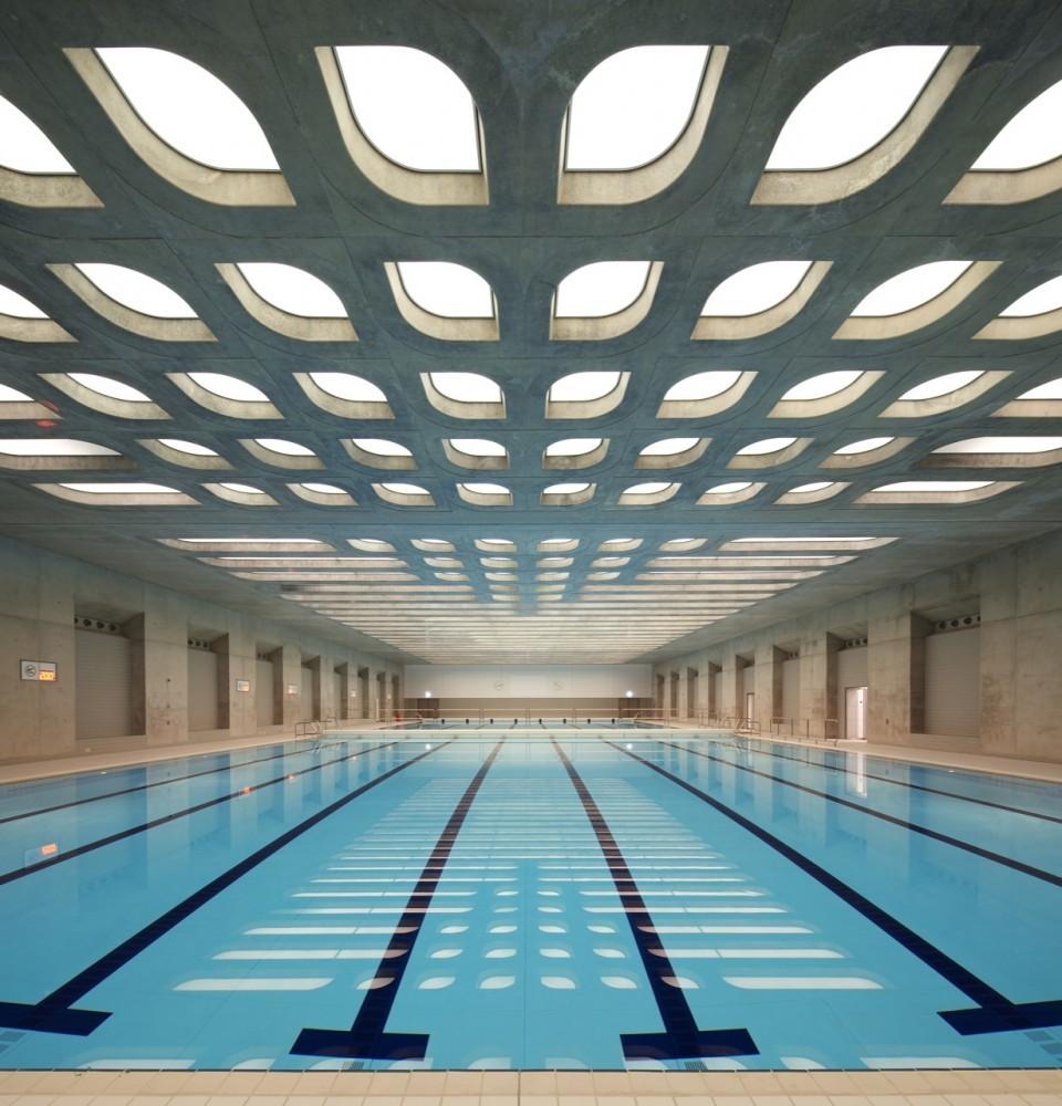 Centro Acuático de los Juegos Olímpicos de Londres 2012 / Zaha Hadid Architects, © Hélène Binet