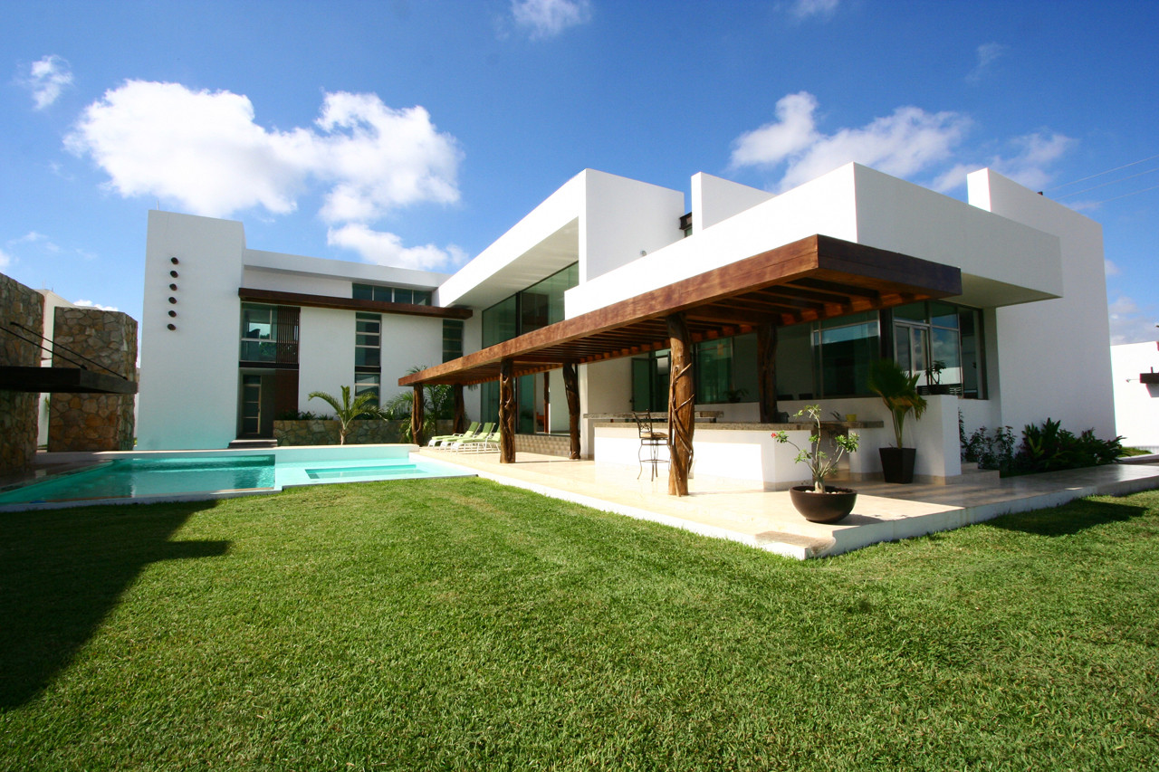 Casa Los Troncos / Punto Arquitectónico, © Tamara Uribe