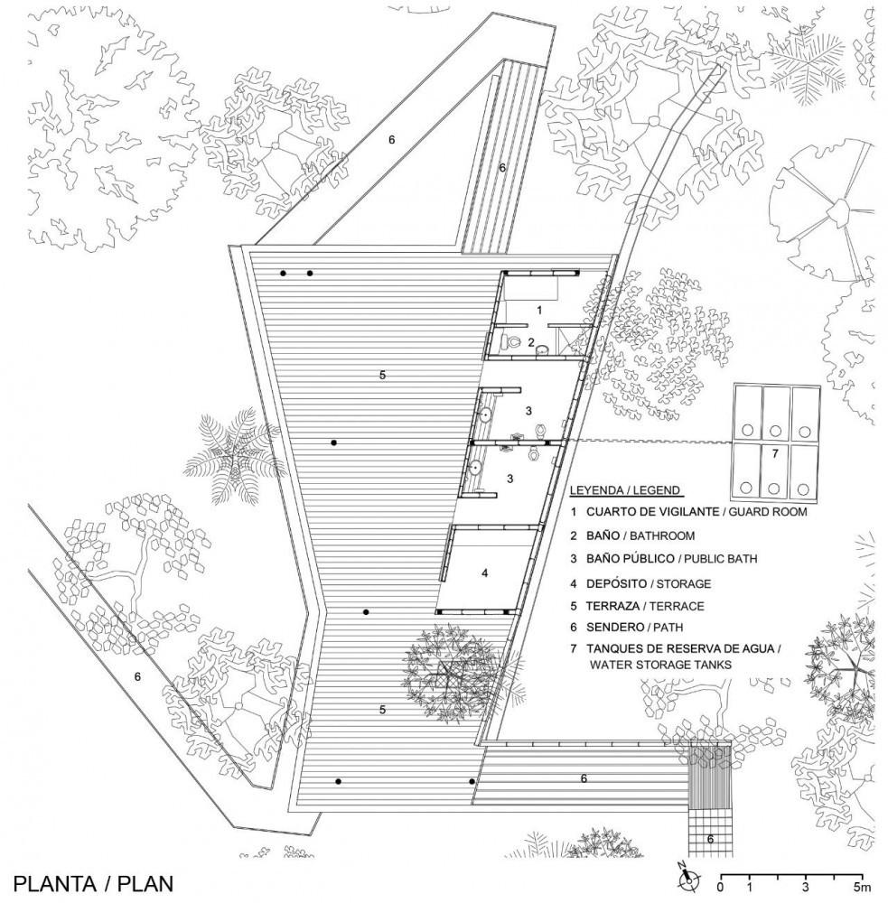 Planta Centro de Visitantes
