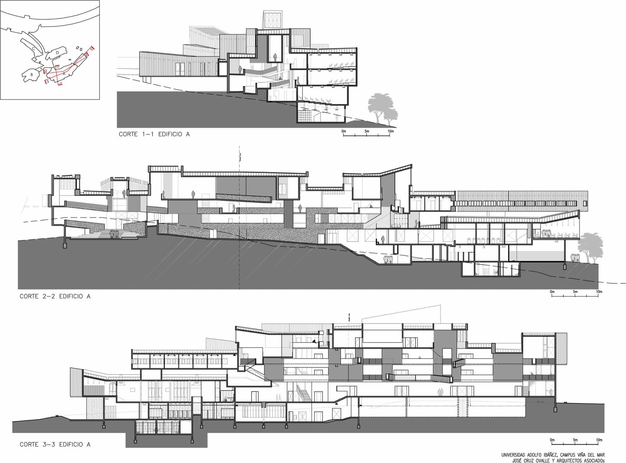 Galer a de arquitectura del campus universidad adolfo for Arquitectura nota de corte