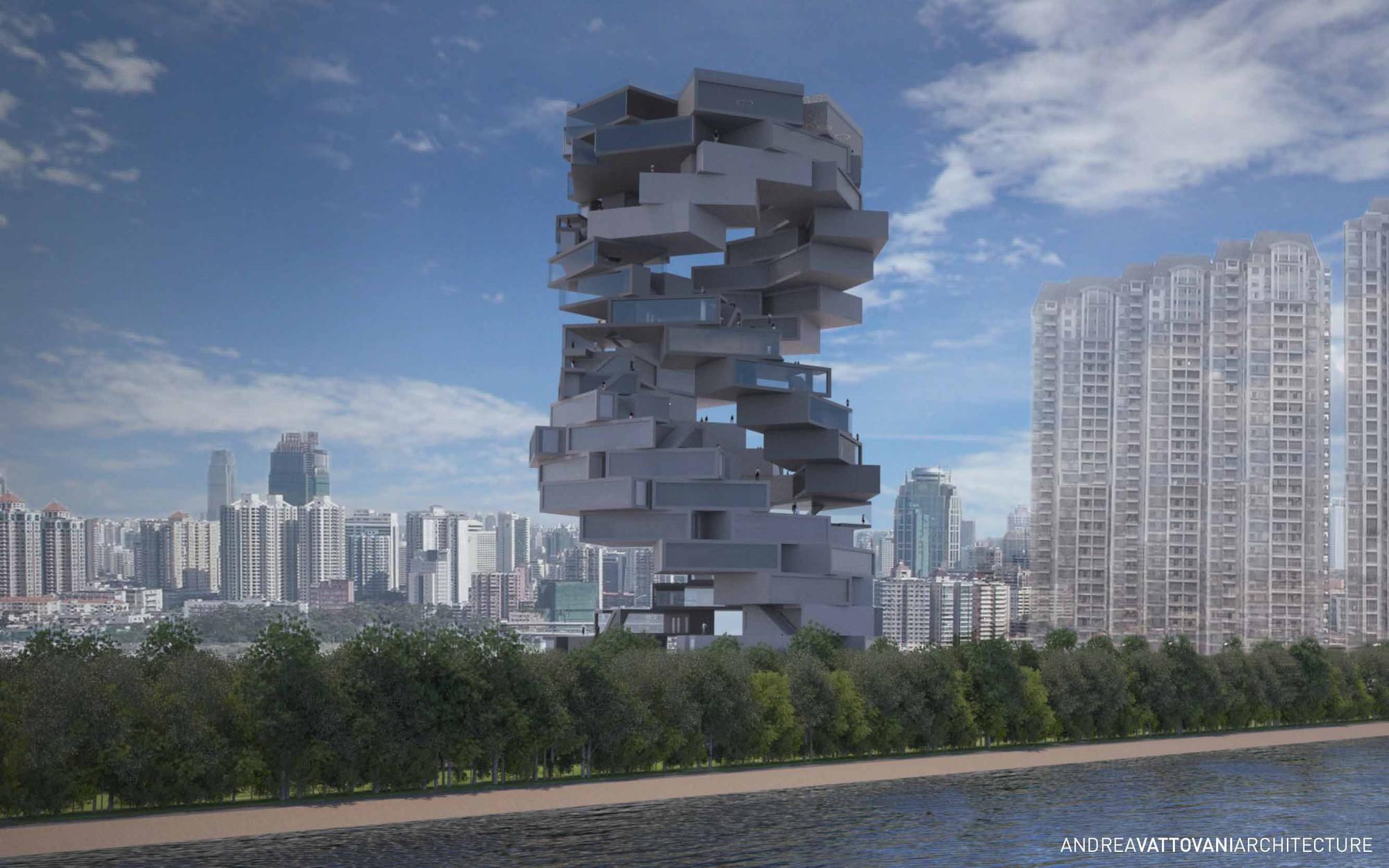 'Back2rots' Research Center Competition Entry / Andrea Vattovani Architecture, Courtesy of Andrea Vattovani Architecture