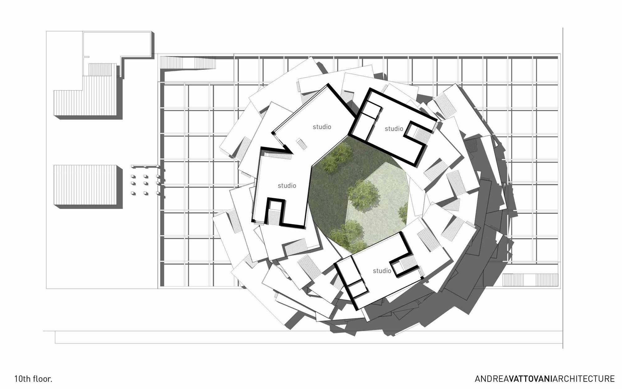 10th floor plan