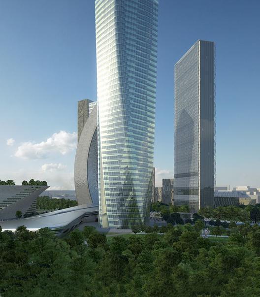 © Zaha Hadid Architects, Courtesy of CityLife
