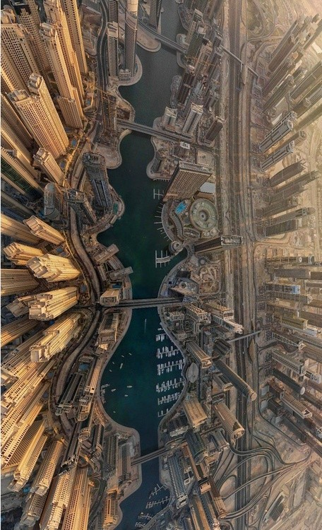 Dubai. Image via ArchDaily pinterest, courtesy of airpano.com