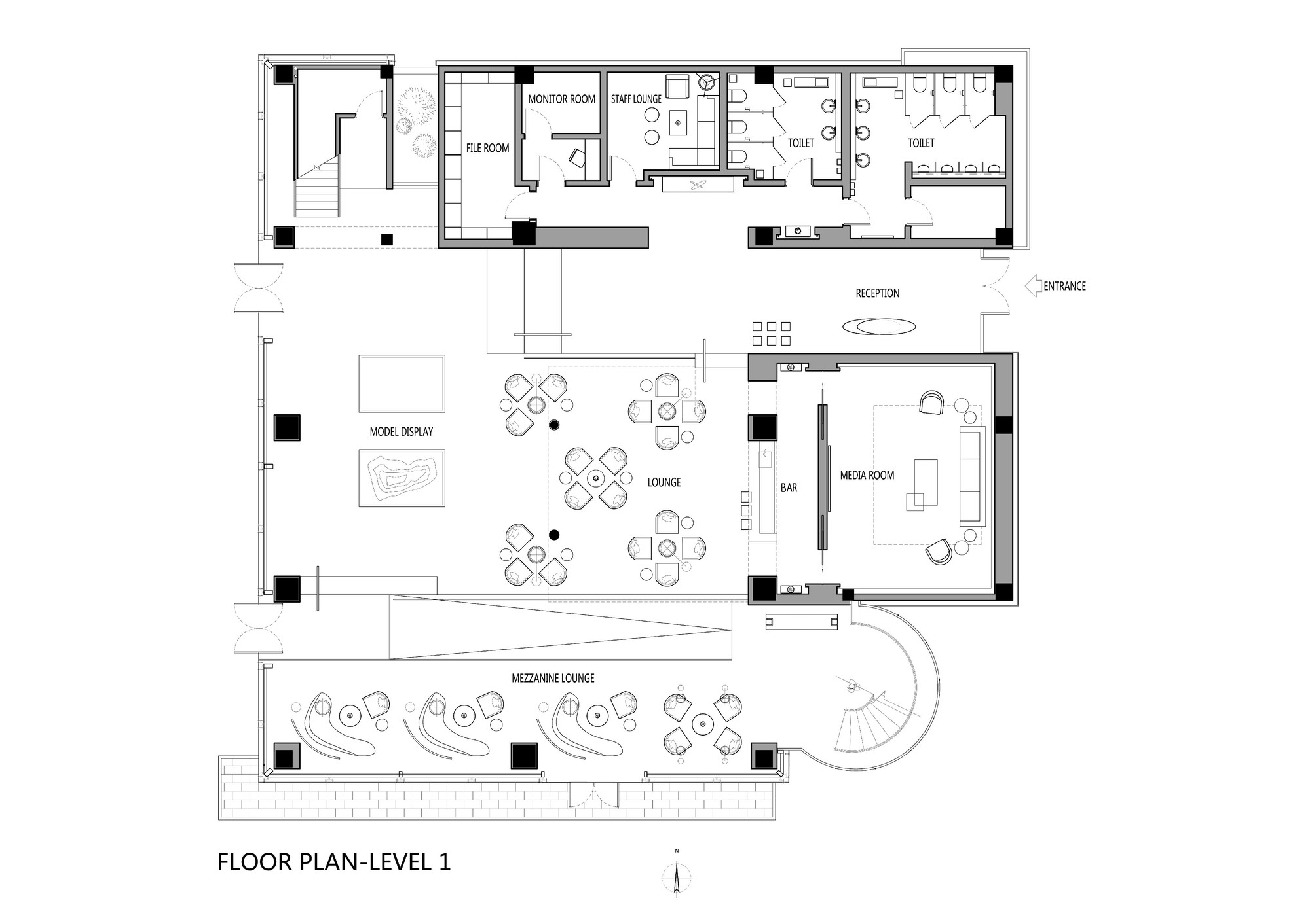 Gallery of yuguandi sales pavilion gallery blvd for 512 plan