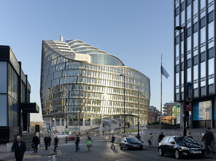 Edificio 1 Angel Square / 3D Reid, © Daniel Hopkinson