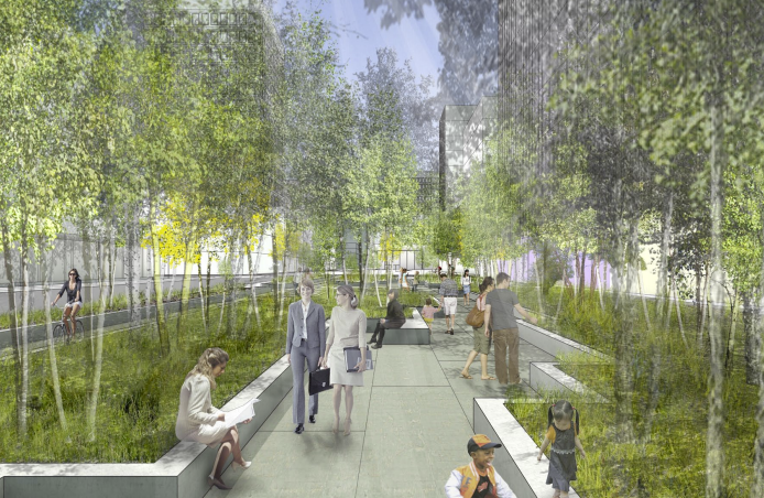 "ULI Announces Finalist Teams for 2013 Student Urban Design Competition, ""Connec+ Minneapolis"" / Harvard University"