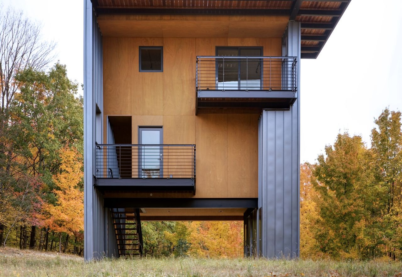 Glen Lake Tower Balance Associates Architects Archdaily