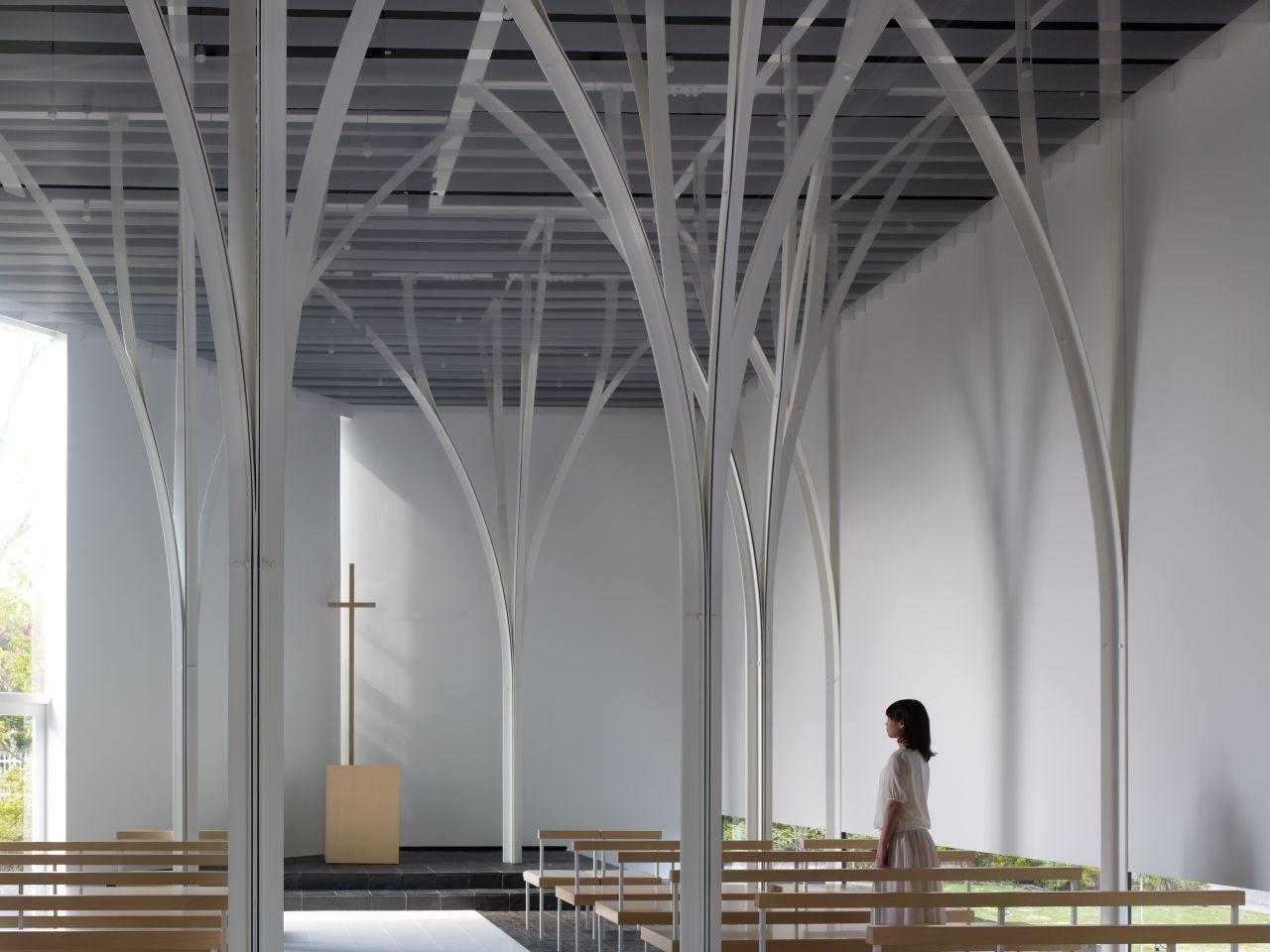 Forest Chapel / Hironaka Ogawa & Associates, © Daici Ano