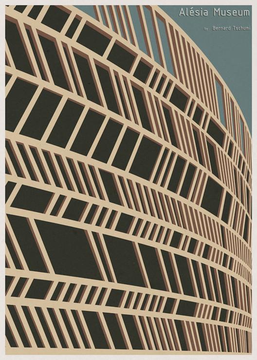 Arte y Arquitectura: Las Ilustraciones de Arquitectura de André Chiote, Cortesia de Arquine