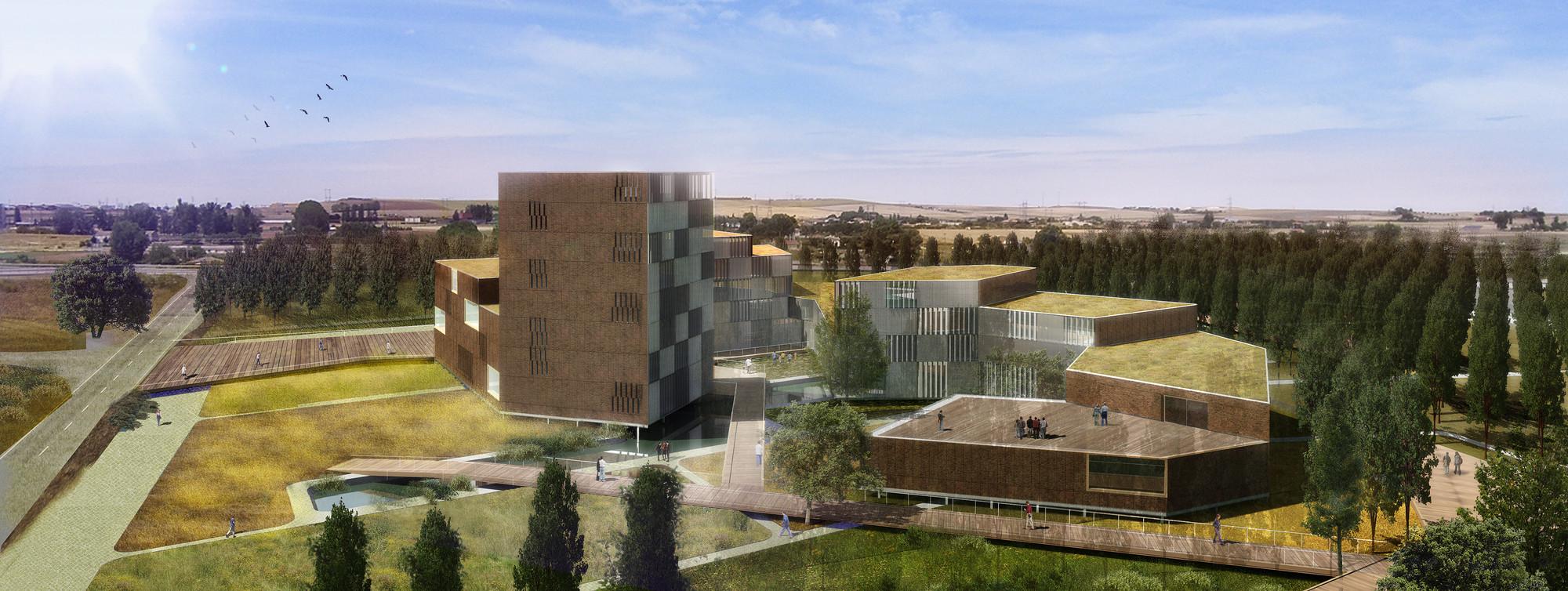 Cúpula Tecnológica Zamora / Herreros Arquitectos + Mangado, Cortesia de Herreros + Mangado