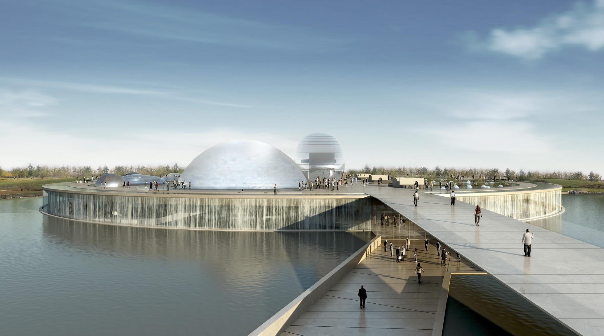 Museo de Ciencia y Tecnología en Beijing / BL/KLM Architects + BIAD, © Atelier Federico Raponi