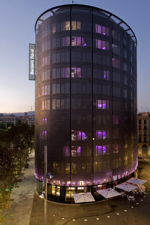 Barceló Raval Hotel / CMV Architects, Cortesía de CMV Architects