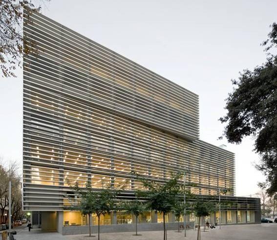Galer a de inauguran edificio de oficinas de la seguridad for Oficinas de pelayo en barcelona