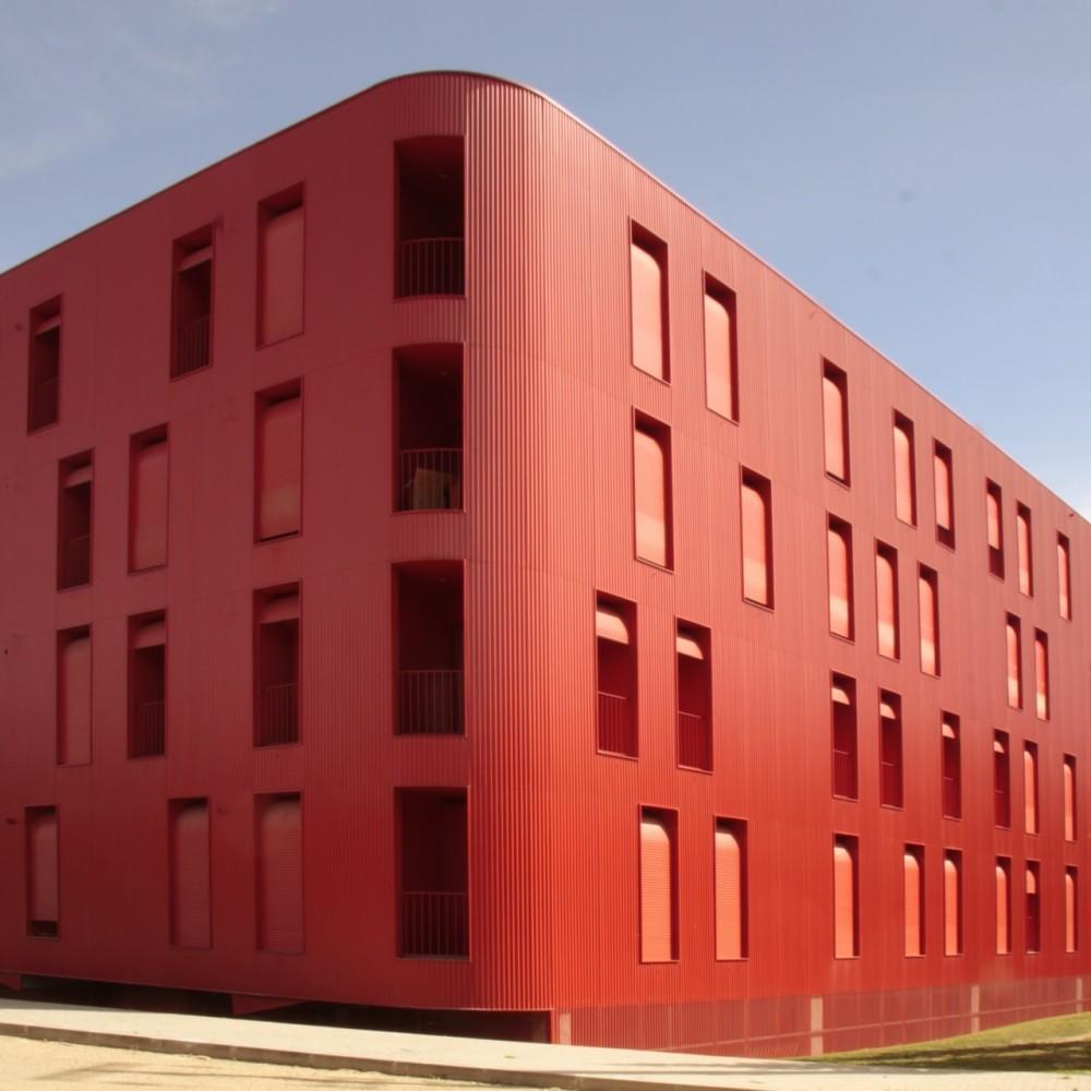 Edificio Flex Rojo / Cerejeira Fontes Arquitectos, © santo eduardo di miceli